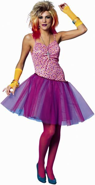Adult 80's Glam Girl Costume - Candy Apple Costumes - 80's Costumes