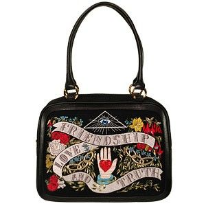 John Derian for Lulu Guinness.  My all-time favorite handbag.  Might to have retire it this year.