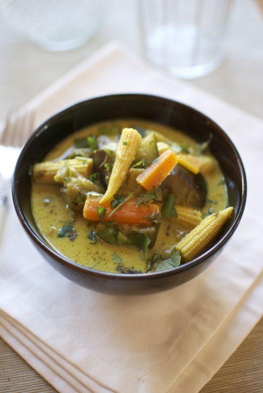 Curry verde de verduras, receta tailandesa con Thermomix « Thermomix en el mundo