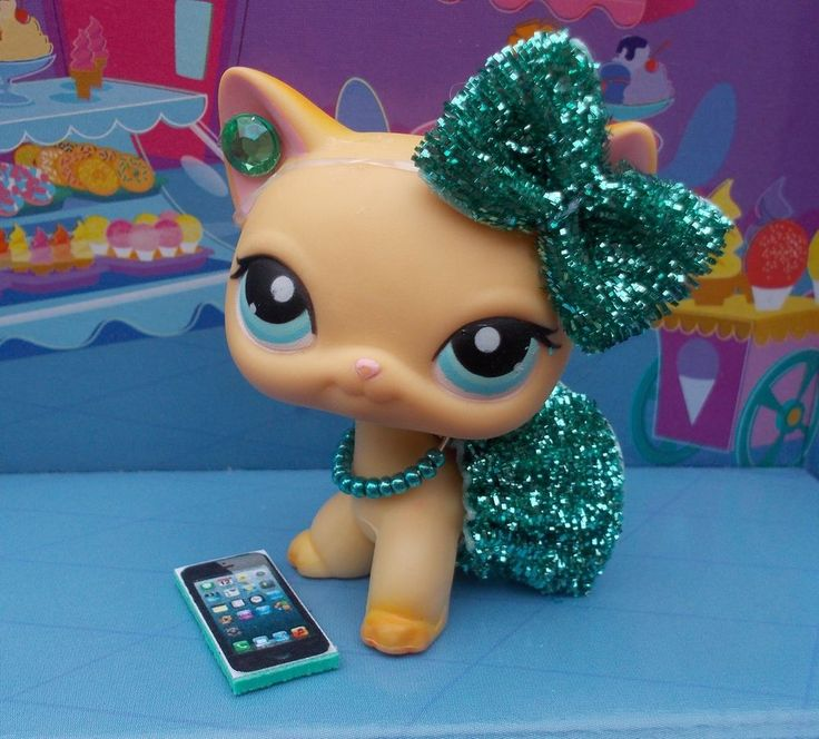 Littlest Pet Shop LPS Clothes Accessories Custom Outfit Lot *CAT NOT INCLUDED*  #NA