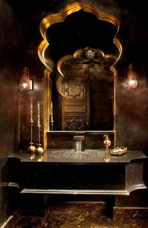 Moroccan bathroom for the home pinterest - Moroccon bathroom ...