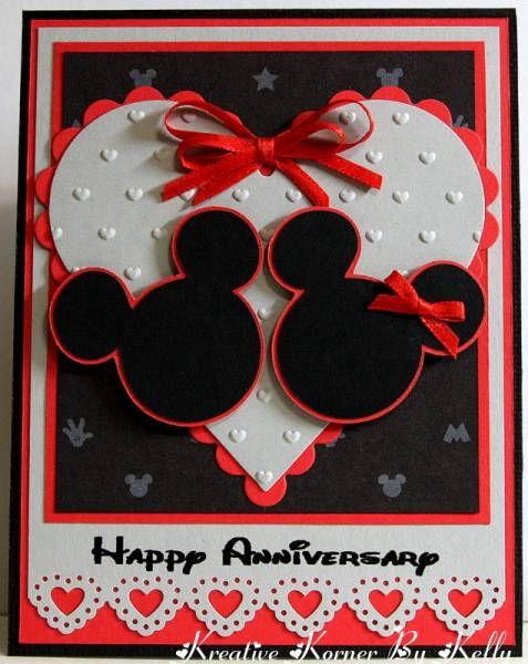Disney Happy Anniversary | Card Design | Pinterest
