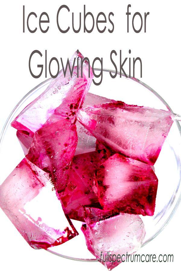 DIY Ice Cube Facial - Anti Aging Skin Beautifier