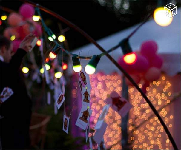 Best 16 Décoration Guirlande led pour jardin images on Pinterest