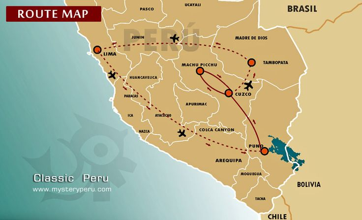 huacachina peru map