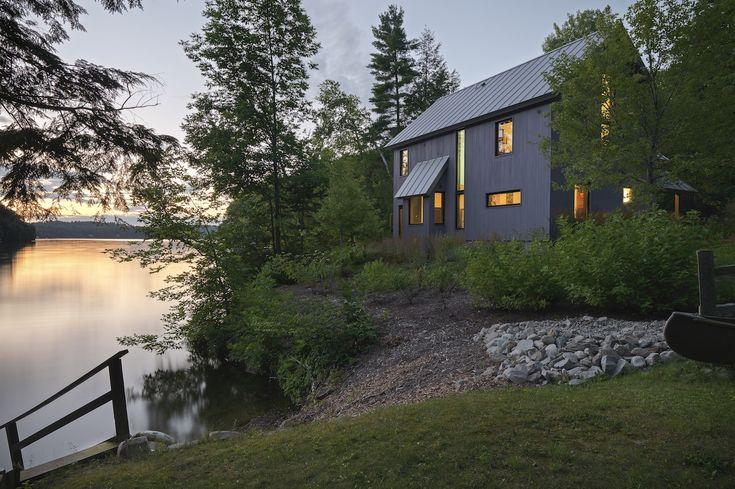 Lake house | Elizabeth Liz Herrmann VT Architect http://eharchitect.com