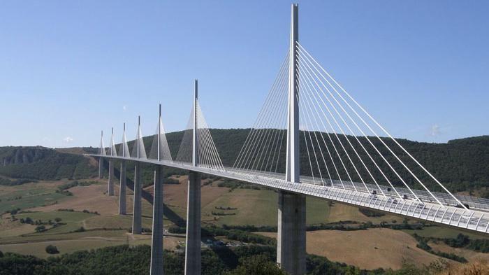 Millau Viaduct Bridge, Midi-Pyrénées, France