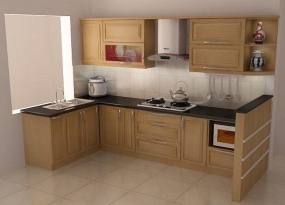 muebles beige para cocinas