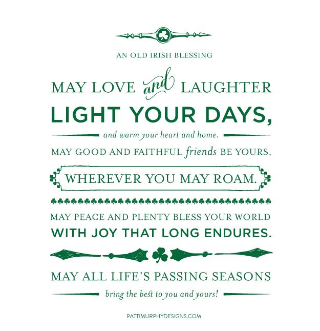 Day 78 // An Old Irish Blessing - #project365things