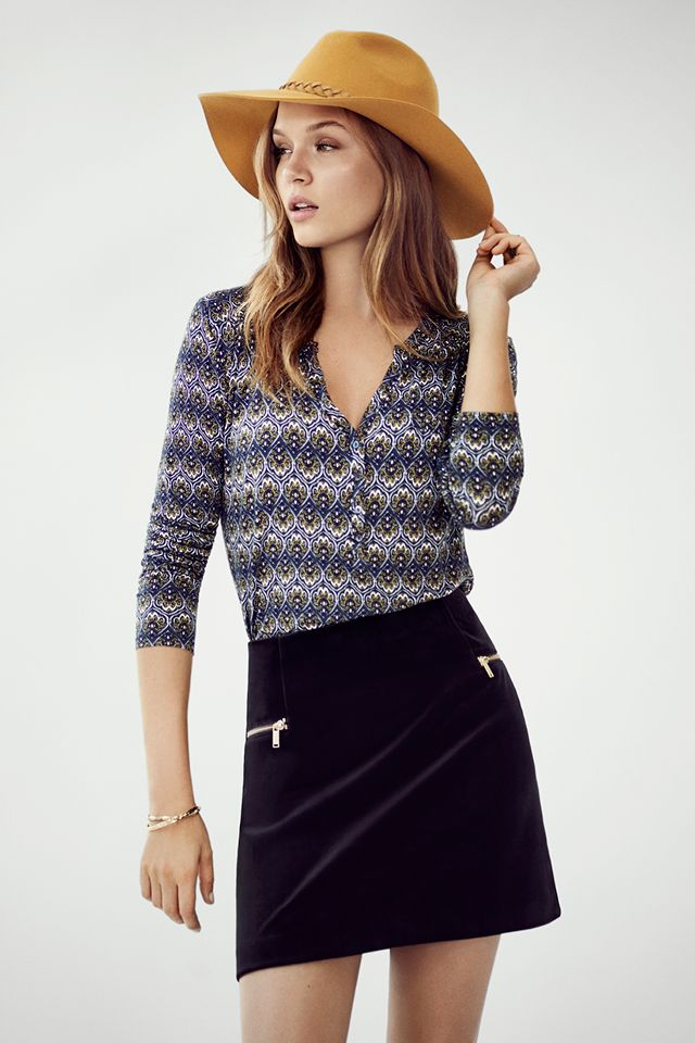 Get the look with a fabulous hat.   H&M Fall/Winter