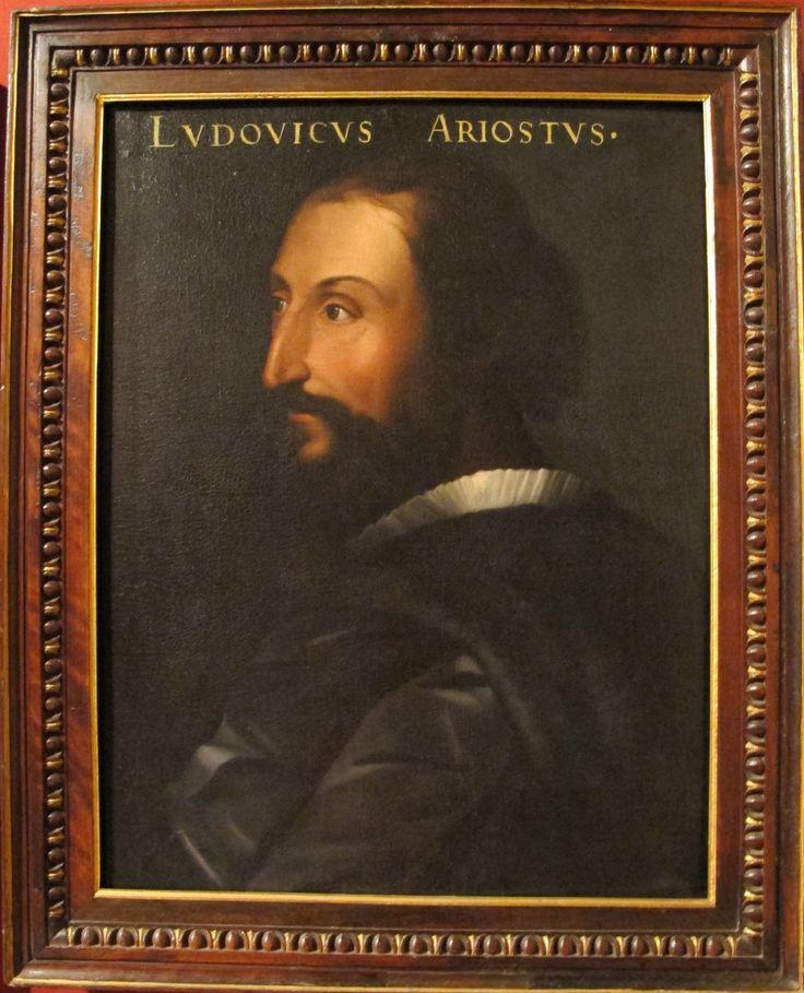 Cristofano dell'Altissimo (Cristofano di Papi dell'Altissimo) (Firenze, 1525 – Firenze, 1605). Ritratto dell'Ariosto nella serie gioviana