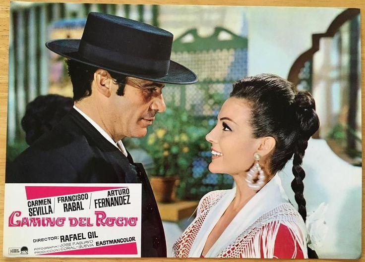 Francisco Rabal Sexy Carmen Sevilla 1966 Camino Del Rocío Lobby Card 335 | eBay