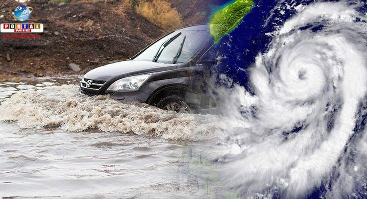 Oizumi inaugura sistema de alertas de desastres naturais em português