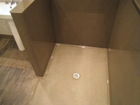 custom shower base acrylic panels tile pan kit diy fiberglass