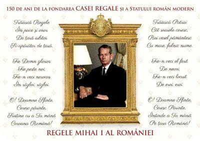 Natural, ca Aloe Vera: Romania - 10 Mai - Traiasca Regele!