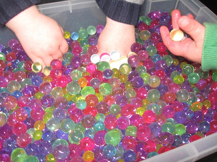 Water Beads Pre School Play This Website Is Full Of