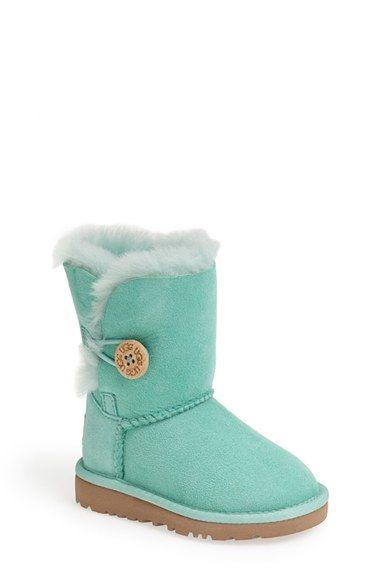 UGG® Australia 'Bailey Button' Boot (Walker, Toddler, Little Kid & Big Kid)