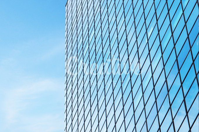 contemporary building by Trefilova Anna on @creativemarket