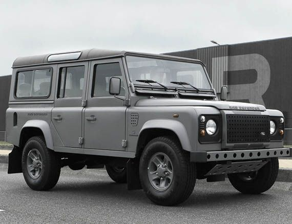G-Star RAW: Raw Defender is the result of a collaboration between the denim manufacturer and Land Rover. Starting at $65k.