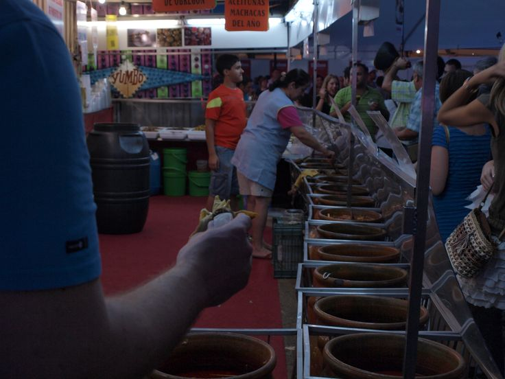 berenjenas de Almagro, de esmerada elaboración...pero 3€ de vellón, la pieza