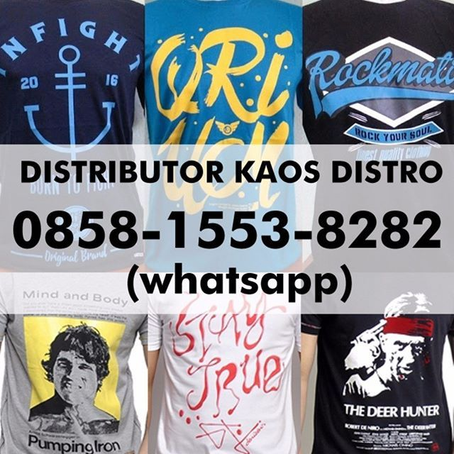 Kami melayani Grosir maupun Eceran Kaos Distro degan berbagai Merek seperti Kick Denim, Insight, Greenlight, Vans. masih banyak lagi. Kami adalah toko online yang melayani pembelian di seluruh wilayah indonesia dengan harga grosir dan eceran termurah  .  Berminat membeli produk kami silahkan kontak customer service kami. .  0858-1553-8282 (WA).  .  #bajukerenmurah #kaosdistrokeren #grosirkaosdistrobandung #grosirkaosdistromurah #kaosdistrojakarta #bajudistrobandung #kaoskerenmurah #...
