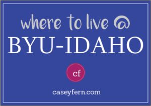 Unless you have permission to live with a relative, you are required by the university to live in BYUI-Approved housing. All types of housing are apartment style, with the exception of a couple homes owned and rented to students. There is no dorm-style living at BYU-Idaho.