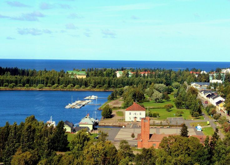 Raahe, Finland seaside town