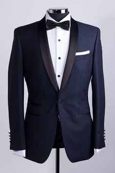 Joe Black Navy Dinner Suit
