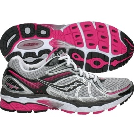 Saucony running shoes. I have these shoes and LOVE them