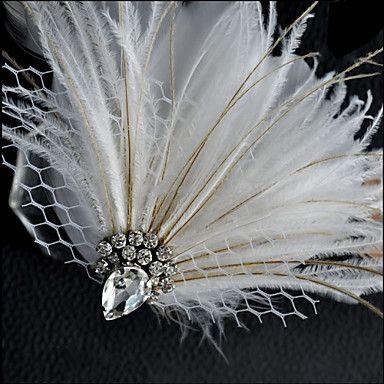 Hand Made Wedding Feather Hair Fascinator Headpieces Fascinators 007 4034306 2016 – $10.00