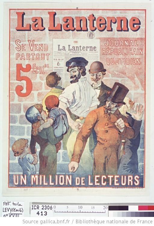 La Lanterne - (source #BNF)