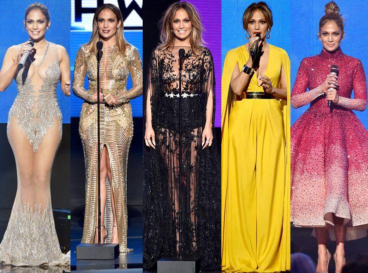 Jennifer Lopez, Fashion, 2015 American Music Awards