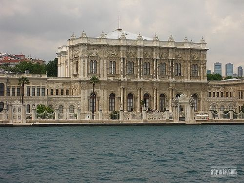 Dolmabahche Palace in Istanbul #Bosphorus