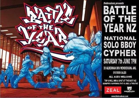 Undisputed   Battle of the Year NZ Qualifiers   2014