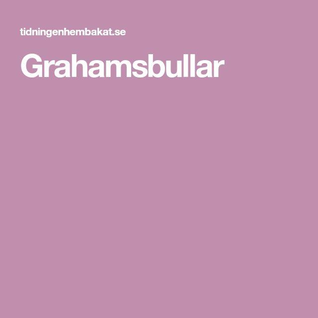 Grahamsbullar