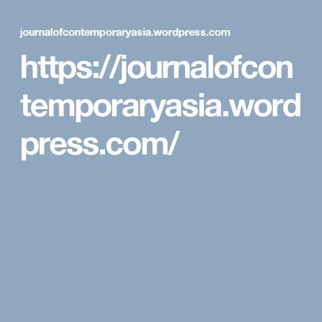 https://journalofcontemporaryasia.wordpress.com/