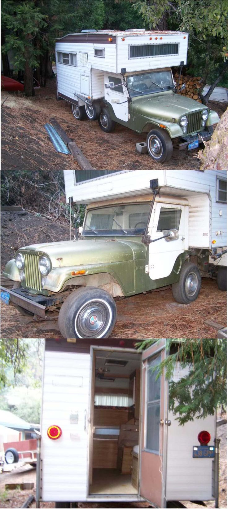Jeep cj offroad trailers