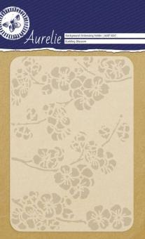 Aurelie Prägefolder Budding Blossom Background -  106 x 150 mm  - 4,75€