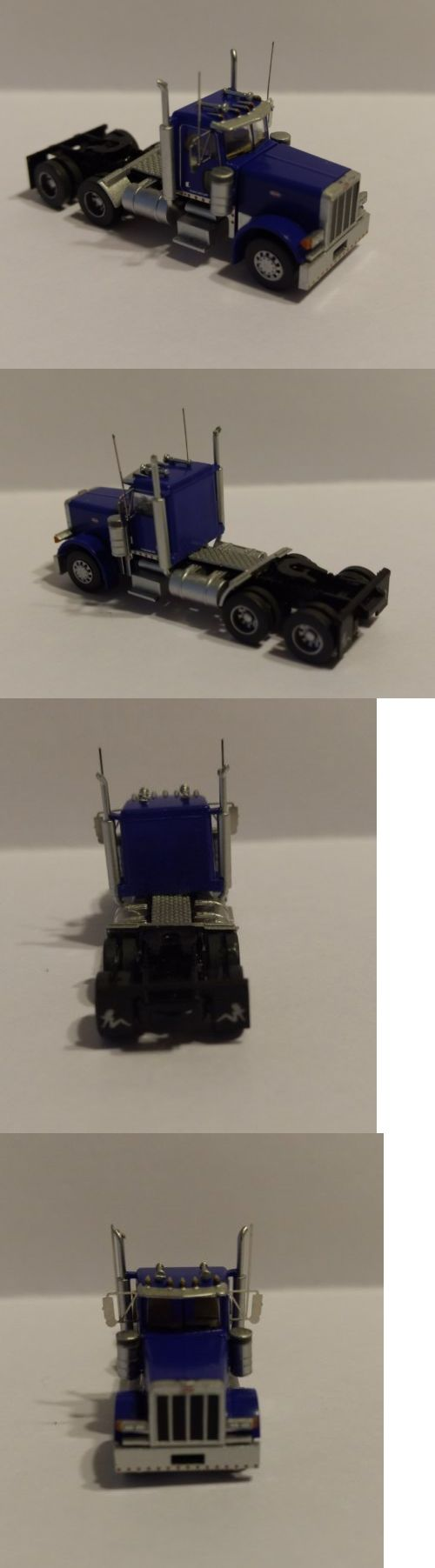 Other n scale parts and accs 13294 trainworx custom built 379 peterbuilt semi truck n