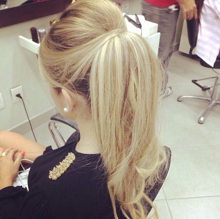 25 Best Ideas About Bridal Hair On Pinterest: 25+ Best Ideas About Elegant Ponytail On Pinterest