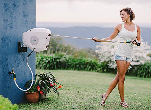 Just love these awesome retractable garden hose reels