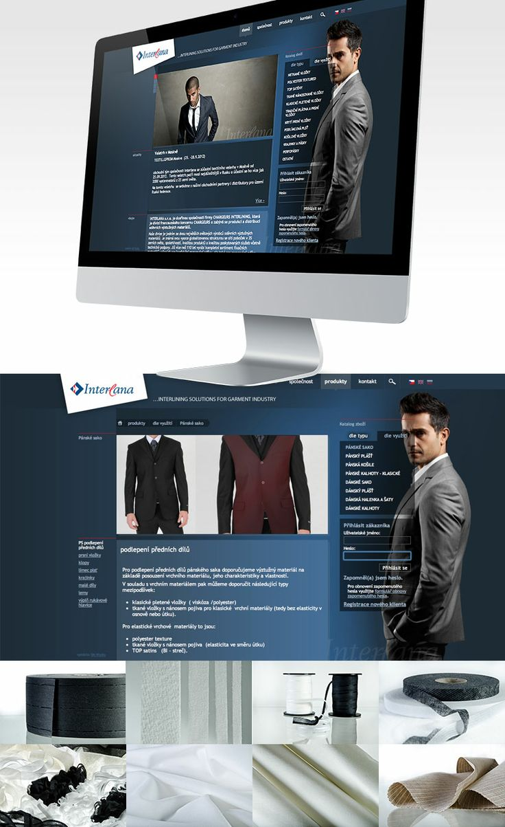 www.interlana.cz #webdesign #catalogue