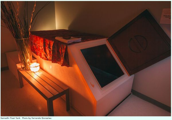Floating In A Sensory Deprivation Tank Float Houston