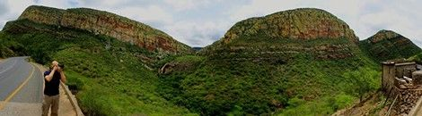 View of the Blyderiver Canyon #southafrica #outlooksafaris - www.krugerparksafari.com