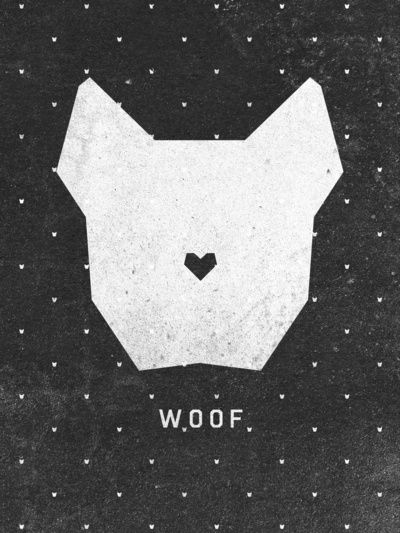 WOOF Art Print by Wesley Bird | Society6