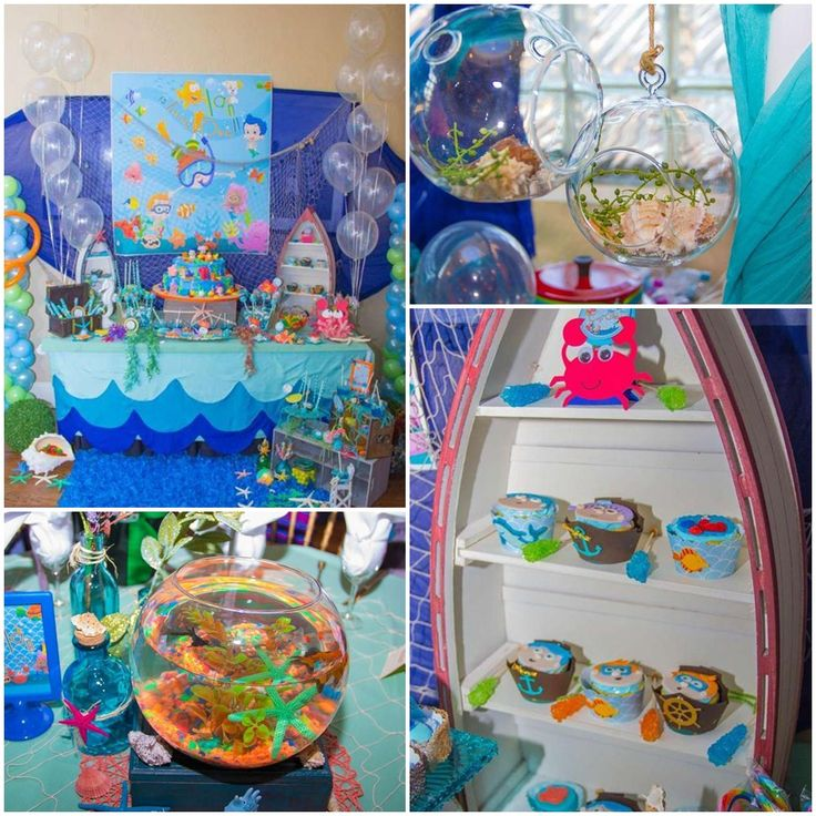 Bubble Guppies Party Ideas For Boy