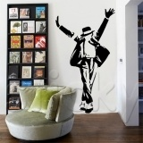 $25 wall stickers, michael jackson