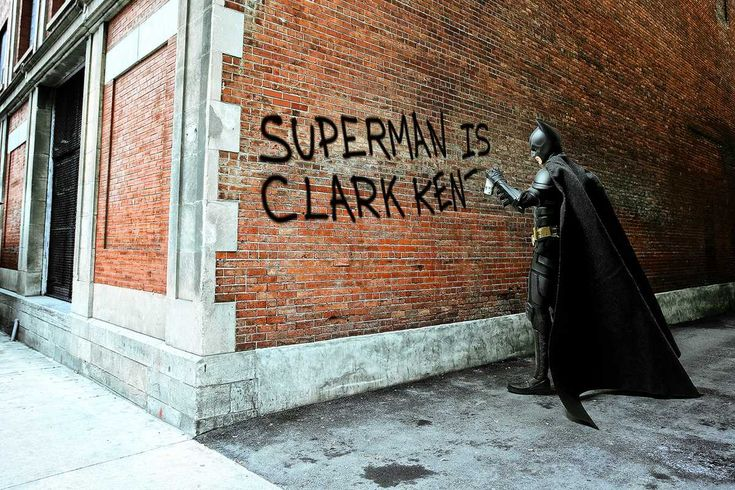 Daniel Picard, Clark Kent Graffiti, 2012 /2016, © www.lumas.com/