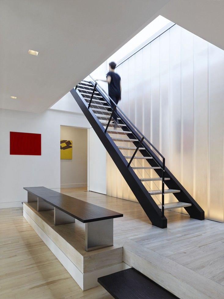 Murphy Burnham & Buttrick Architects, New York Loft, stair to roof garden | Remodelista