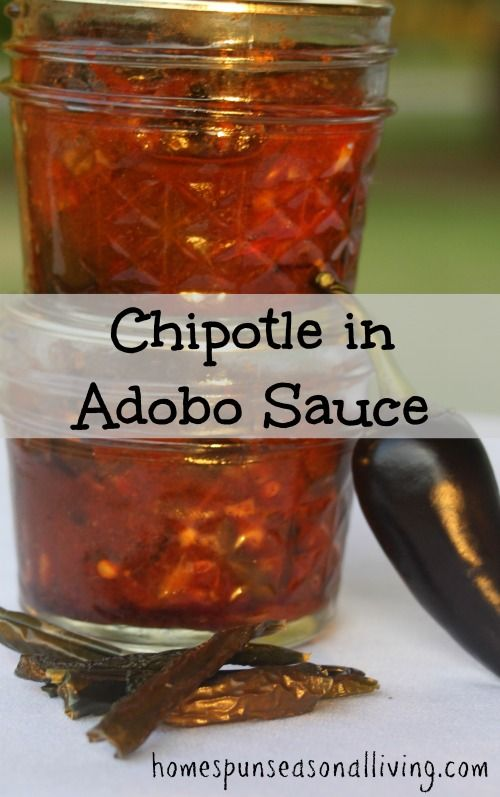 A canning recipe for homemade chipotle in adobo sauce.  Easy and delicious!  I will use this one again.